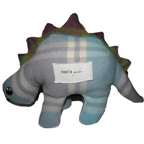Eco Dino - Baby blue and purple