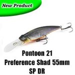 Pontoon 21 Preference Shad 55mm DR