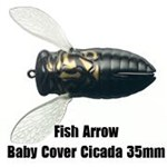 Fish Arrow Baby Cover Cicada ## Clearout colours ##