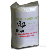 Bubblebubs Bamboo Flushable Liners