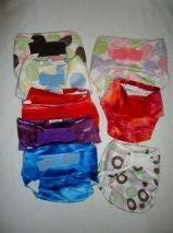 Blueberry Minky Nappy Covers - CLEARANCE