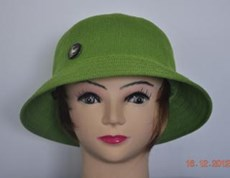 Sun Protection Ladies Green Golf Hat