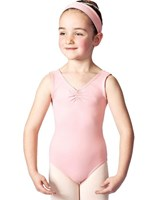 Studio 7 Gathered front Leotard, Girls sizes,  (11 Colours)