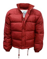 Down Filled Puffa Jacket Red