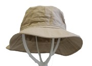 Military Style Bush Hat - Beige