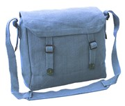Canvas Webbing Messenger Bag