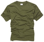 100% Cotton Basic T-shirt - Olive