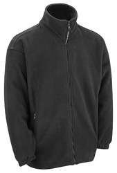 Quality Polar Fleece Top- Black