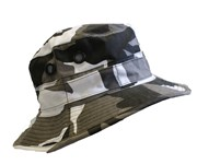 Military Style Bush Hat - Urban Camo