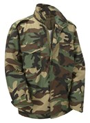 M65 Military Field Jacket- Woodland Camo