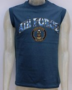 US Muscle Fit Tank Top - Air Force