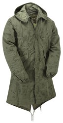 Genuine Unissued AK915 U.S Night Desert Camouflage Fishtail Parka