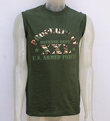 US Muscle Fit Tank Top- DEFENSE DEPARTMENT