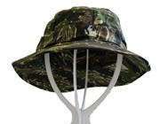 Military Style Bush Hat - Tiger Stripe Camo