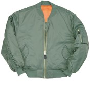 MA1 Bomber Jacket- Sage Green