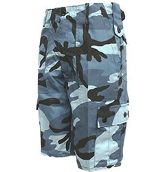Combat Camo Shorts Midnight