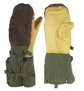 US Army Issued Surplus Lambs Leather Arctic Mitt