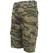 Combat Camo Shorts Tiger Stripe