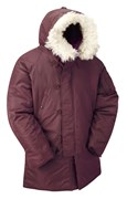 N3B Extreme Weather Parka- Maroon