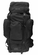 New Army Military Style Hiking Outdoor Backpack Rucksack Bergen Daypack - Black