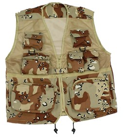 14 Pockets - Multi Pocket Vest- Waistcoat- VERY FEW ON STOCK!