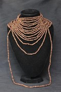 Necklace - Multi-Strand - Wooden Beads