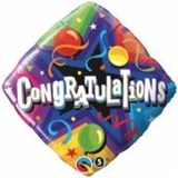 Congratulations Diamond Balloon In A Box