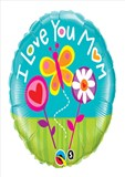 I Love You Mum - Balloon In a Box