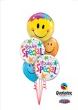 You're Special Smiles Bubble Balloon Bouquet