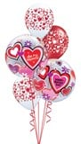Be My Valentine Bubble Bouquet