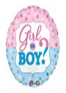 Girl or Boy? Balloon In A Box