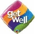 Get Well Diamond Balloon In A Box