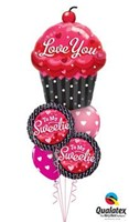 To My Sweetie Balloon Bouquet