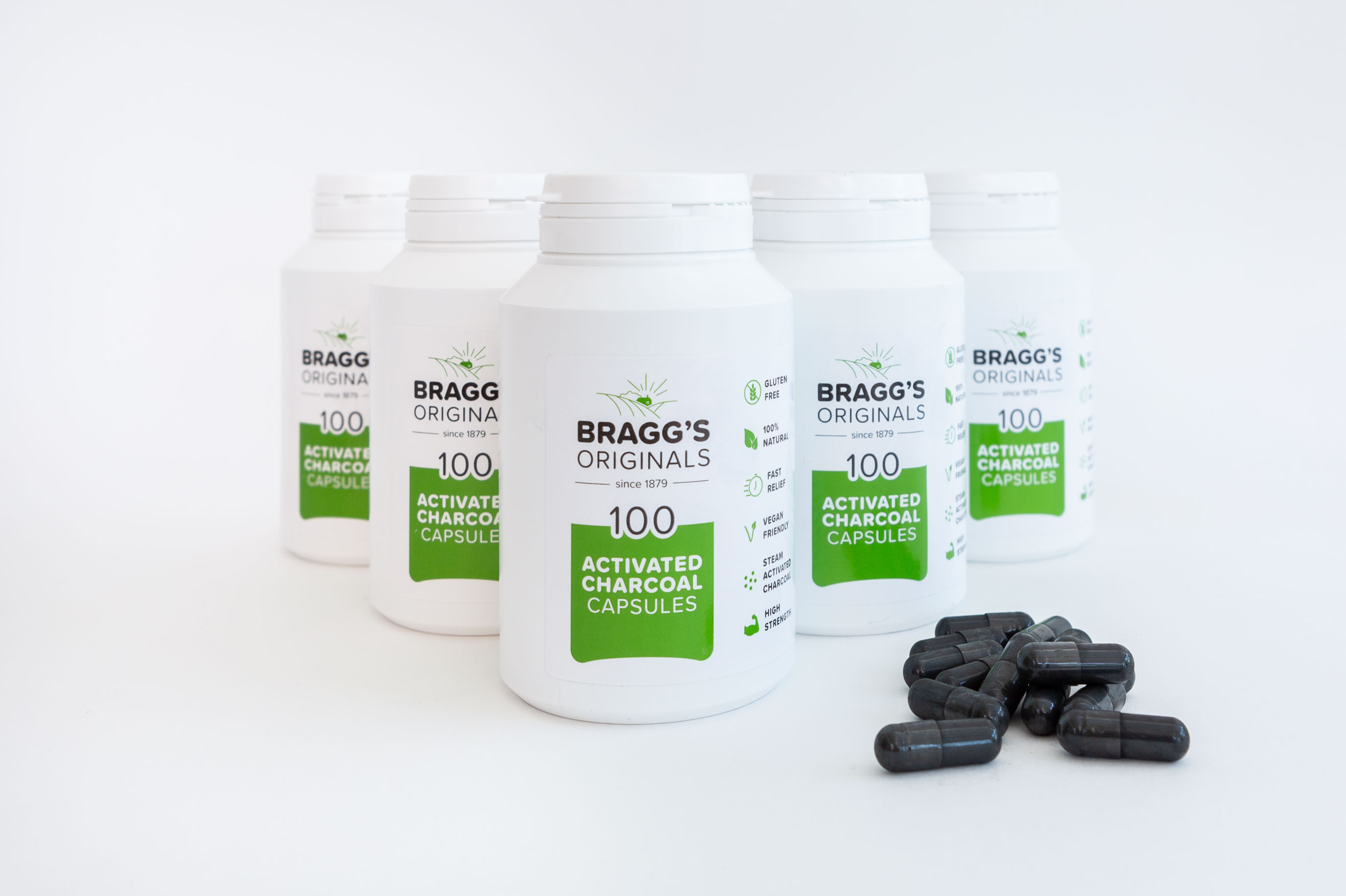 Braggs launches Vegetarian and Vegan Charcoal Capsules