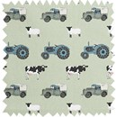 Farm tractor and landrover fabric by the metre