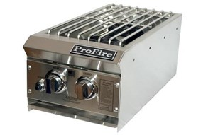 ProFire Built-In  Gas Double Side Burner - PFDSB