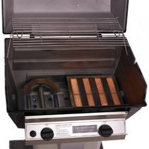 BROILMASTER INFRARED PROPANE GAS GRILL COMBINATION 1 INFRARED AND BLUE FLAME BURNER R3B