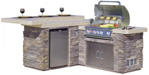 Bull - Jr Gourmet Q - Outdoor Island Kitchen