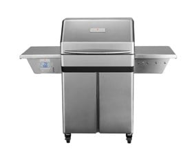 Memphis Pro 28 Inch Pellet Grill On Cart With WIFI (430 stainless steel)- Vg0001s4 (NEW 2017 MODEL)
