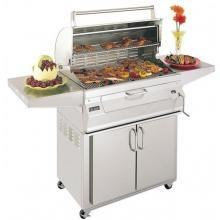 Fire Magic 24 Inch Legacy Charcoal Grill On Cart  #22-S101C-61