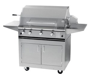 ProFire Professional Series 36-Inch Freestanding Infrared Hybrid Gas Grill - PF36GIH + PF36SSCBN