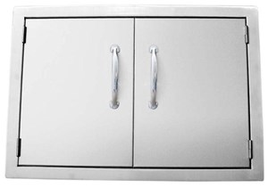 SUNSTONE 30 INCH DOUBLE ACCESS DOOR FLUSH MOUNT #A-DD30