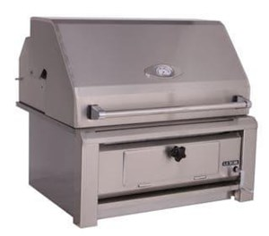 Luxor 30 Inch Built-in Charcoal Grill  - AHT-30-CHAR-BI
