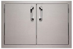 BULL Stainless Steel Double Door 33568