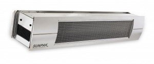 Sunpak S25SLP Propane Gas Infrared Patio Heater Stainless Steel