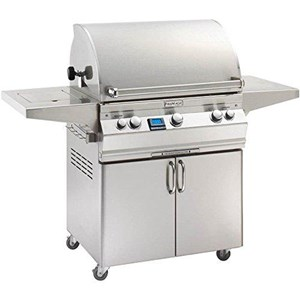 Fire Magic Aurora A540s on Cart Propane Gas Bbq Grill with rotisserie backburner- A540s-6E1p-62