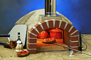 FORNO BRAVO Casa80 Wood Fired Pizza Oven Kit – 32″ cooking floor