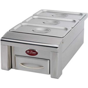 Cal Flame 12 in. Drop-in BBQ Food Warmer