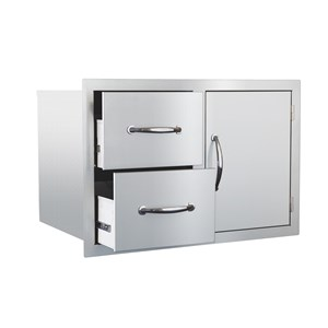 STG Excalibur 30-in. Door & Double Drawer Combo STGDC-1