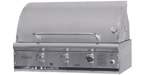 ProFire Professional Deluxe Series 36-Inch Built-In Gas Grill - PFDLX36G